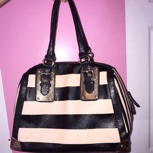 Also Stripped Handbag